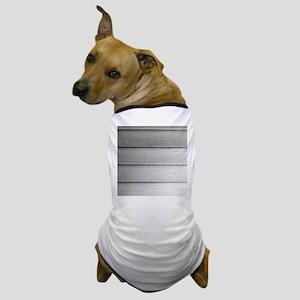 White faded horizontal panels Dog T-Shirt