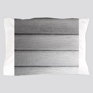 White faded horizontal panels Pillow Case