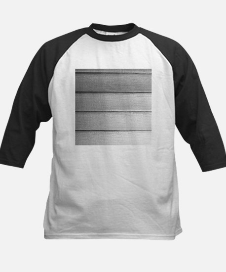 White faded horizontal panels Baseball Jersey