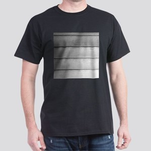 White faded horizontal panels T-Shirt