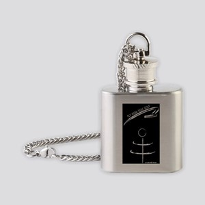 Fly High Disc Golf Flask Necklace