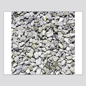Gray pebble image Posters