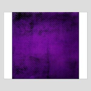 Purple tiny polka dot texture Posters