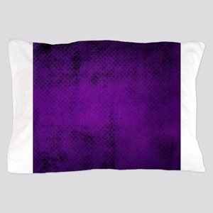 Purple tiny polka dot texture Pillow Case