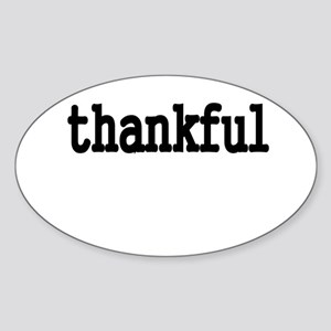 thankful Sticker