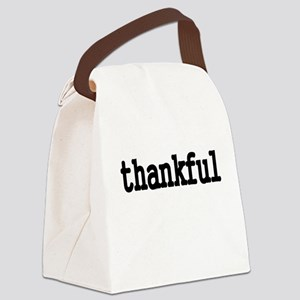 thankful Canvas Lunch Bag