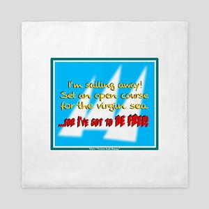 Ive Got To Be Free-Styx/t-shirt Queen Duvet