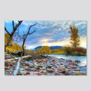 A River With Stones  Postcards (Package of 8)