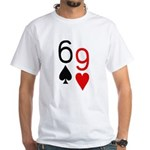 Big Lick - Porno Poker White T-Shirt