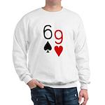 Big Lick - Porno Poker Sweatshirt