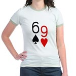 Big Lick - Porno Poker Jr. Ringer T-Shirt