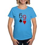 Big Lick - Porno Poker Women's Dark T-Shirt
