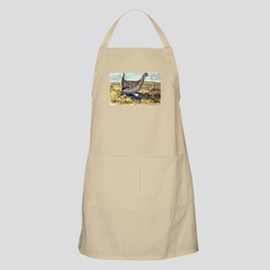 Sharp-Tailed Grouse Bird BBQ Apron