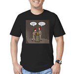 Caving Fun Men's Fitted T-Shirt (dark)