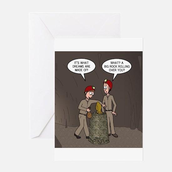 Caving Fun Greeting Card