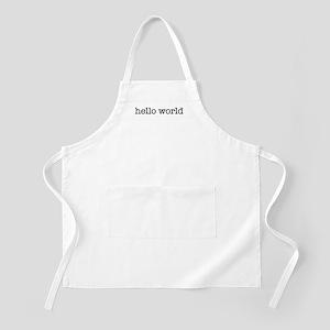 Hello World BBQ Apron