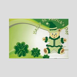 Happy ST Patricks Day Rectangle Magnet