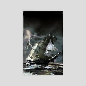 Ghost Ship Area Rug