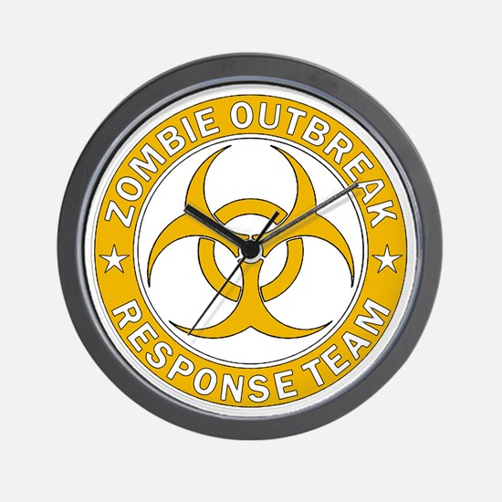Zombie Outbreak Response Gold Team  Wall Clock