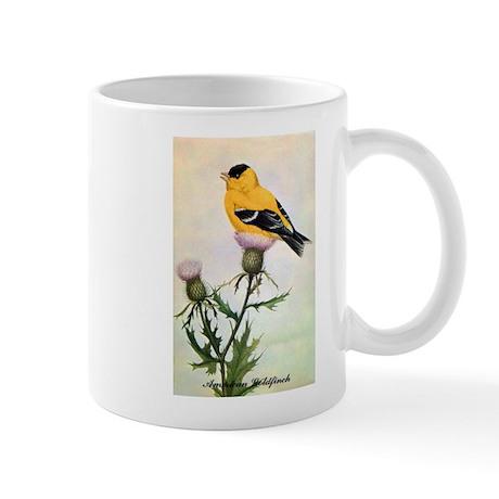 American Goldfinch Bird Mug