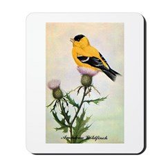 American Goldfinch Bird Mousepad