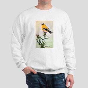 American Goldfinch Bird (Front) Sweatshirt