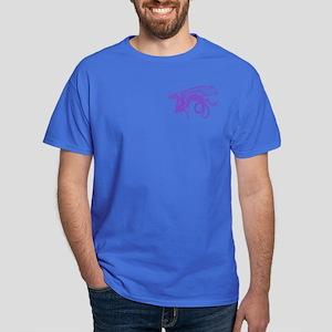 Edwina's Purple Dragon Dark T-Shirt