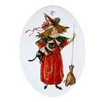 Littlest Witch - Ornament (Oval)