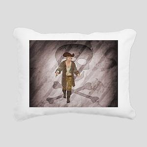 Pirate 2 Rectangular Canvas Pillow