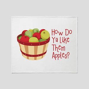 How Do Ya Like Them Apples? Throw Blanket