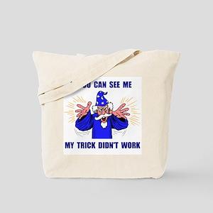 BLUE WIZARD Tote Bag