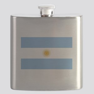 Argentinian Flag Flask