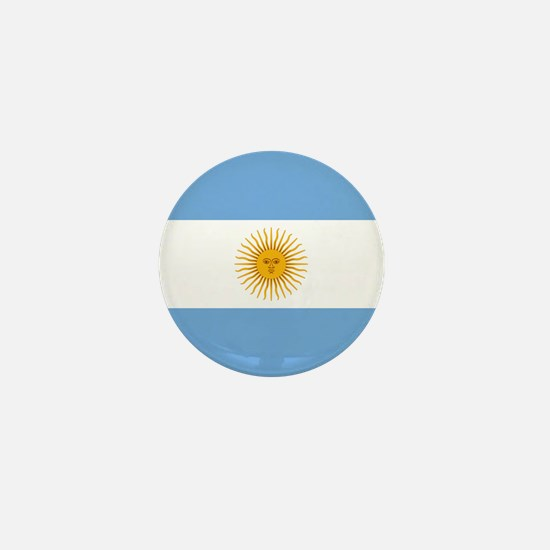 Argentinian Flag Mini Button