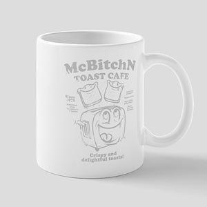 Vintage diner print Mug