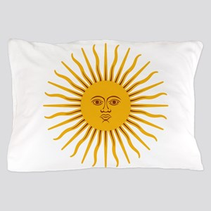 Argentinian Sun of May Pillow Case