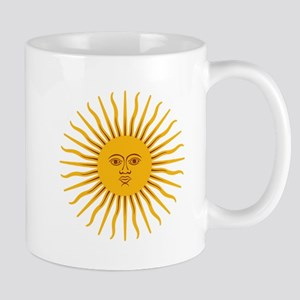 Argentinian Sun of May Mugs