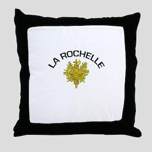 La Rochelle, France Throw Pillow