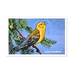 Prothonotary Warbler Bird Mini Poster Print