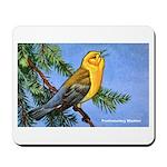 Prothonotary Warbler Bird Mousepad