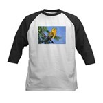 Prothonotary Warbler Bird Kids Baseball Jersey