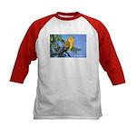 Prothonotary Warbler Bird (Front) Kids Baseball Je