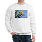 Prothonotary Warbler Bird (Front) Sweatshirt