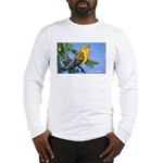 Prothonotary Warbler Bird Long Sleeve T-Shirt