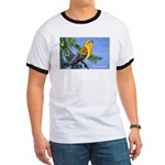 Prothonotary Warbler Bird (Front) Ringer T