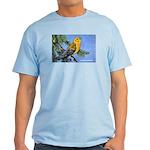 Prothonotary Warbler Bird Light T-Shirt