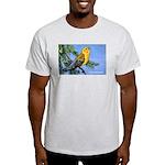 Prothonotary Warbler Bird (Front) Light T-Shirt