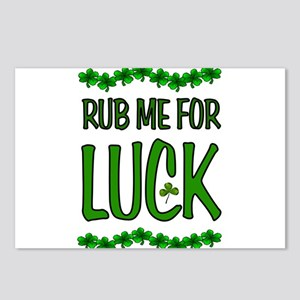 LUCKY SHAMROCKS Postcards (Package of 8)