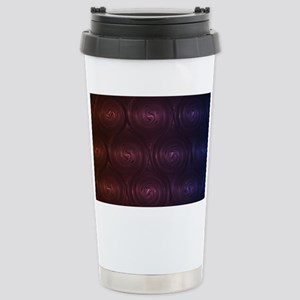 Abstract colorful spira Stainless Steel Travel Mug