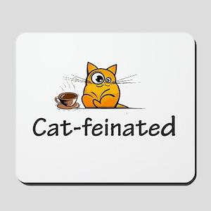cat-feinated Mousepad