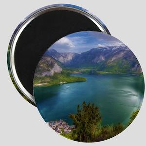 Beautiful lake view Magnet